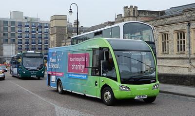 Bristol Community Transport YJ66AON - Bristol (Temple Meads station)
