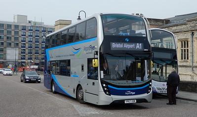 First Bristol 36834 - YP67XDM - Bristol (Temple Meads station)