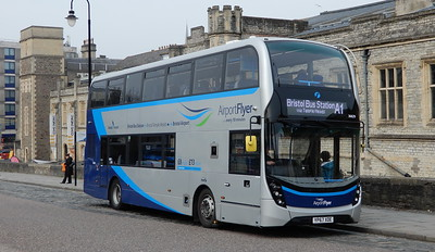 First Bristol 36829 - YP67XDE - Bristol (Temple Meads station)