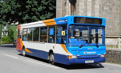Stagecoach South West 34776 - PX55EFF - Holsworthy