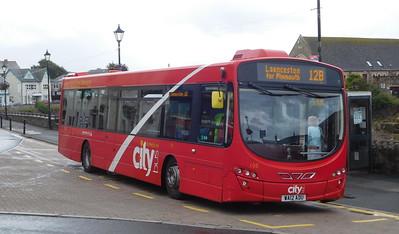 Plymouth Citybus 108 - WA12ADU - Bude (strand)