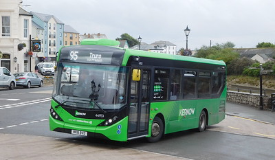 First Kernow 44953 - WK13BVD - Bude (strand)
