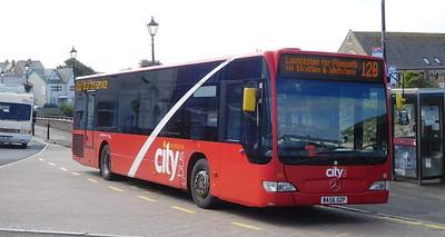 Plymouth Citybus 90 - WA56OZP - Bude (strand)