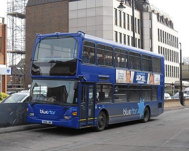 BlueStar 1012 - YN06JWE - Eastleigh (bus station) - 14.2.12