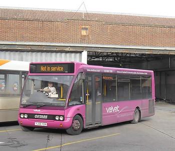 Velvet 221 - YJ55YGN - Winchester (bus station) - 14.2.12