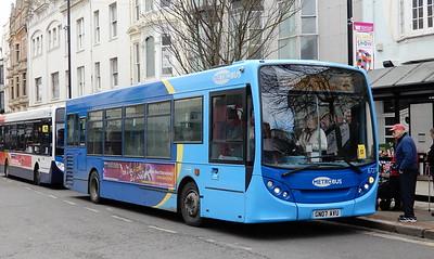 Metrobus 6727 - GN07AVU - Worthing (town centre)
