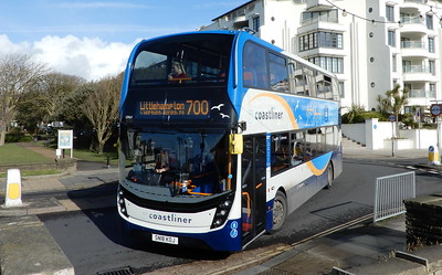 Stagecoach South 10964 - SN18KOJ - Worthing (Marine Parade)