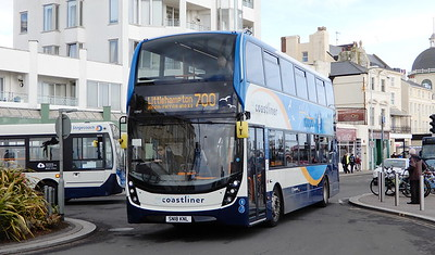 Stagecoach South 10947 - SN18KNL - Worthing (Marine Parade)