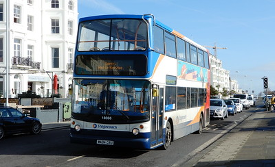 Stagecoach South 18066 - WA04CRU - Worthing (Marine Parade)