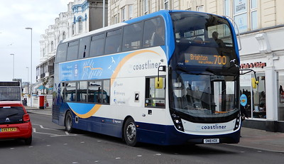 Stagecoach South 10968 - SN18KOX - Worthing (Marine Parade)