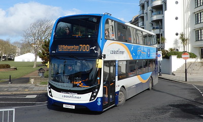 Stagecoach South 10965 - SN18KOU - Worthing (Marine Parade)