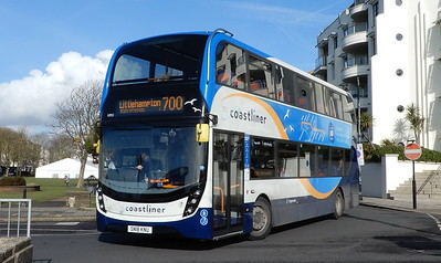 Stagecoach South 10953 - SN18KNU - Worthing (Marine Parade)