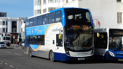 Stagecoach South 10954 - SN18KNV - Worthing (Marine Parade)