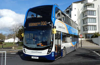 Stagecoach South 10952 - SN18KNS - Worthing (Marine Parade)