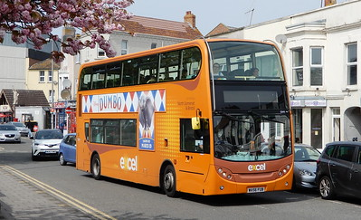 First Bristol & Avon 33411 - WA56FUB - Weston-super-Mare (Alexandra Parade)