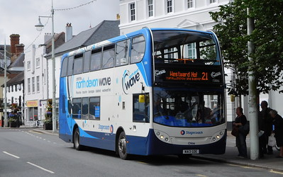 Stagecoach South West 15886 - WA13GDE - Bideford