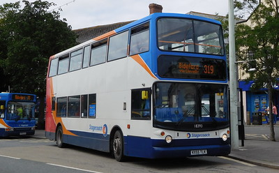 Stagecoach South West 18393 - KX55TLK - Bideford
