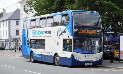 Stagecoach South West 15895 - WA13GDZ - Bideford