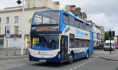 Stagecoach South West 15887 - WA13GDF - Bideford