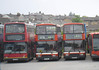 GSC Events Fleet 1941 (Y741YGH), 3148 (M17WAL) and 3157 (M645RCP) - Ryde depot - 19.5.12
