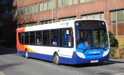 Stagecoach in Hampshire 27651 - GX10KZD - Basingstoke (Alencon Link)