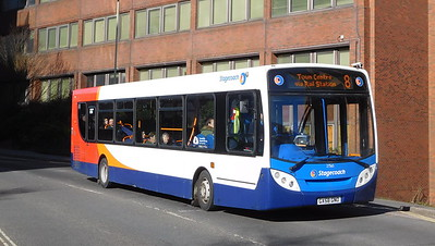 Stagecoach in Hampshire 27565 - GX58GNO - Basingstoke (Alencon Link)
