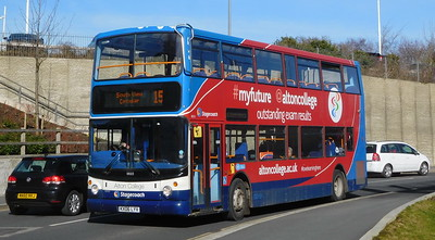 Stagecoach in Hampshire 18503 - KX06LYV - Basingstoke (Basing View)