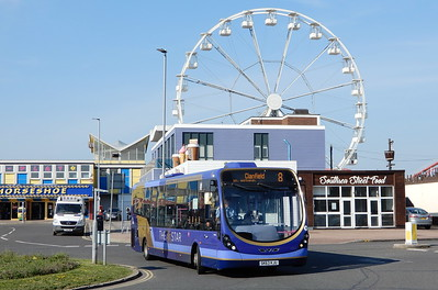 First Solent 63055 - SK63KJU - Southsea (Clarence Pier)