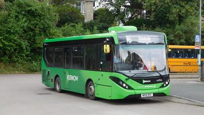 First Kernow 44954 - WK18BVE - Wadebridge (bus station)