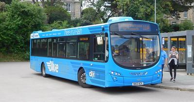 Plymouth Citybus 103 - WA12ACV - Wadebridge (bus station)