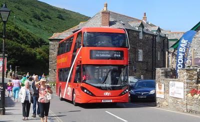 Plymouth Citybus 565 - WA17FTZ - Boscastle