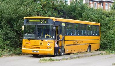 First Kernow 68555 - MX55NWS - Wadebridge (bus station)
