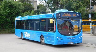 Plymouth Citybus 104 - WA12ACX - Wadebridge (bus station)