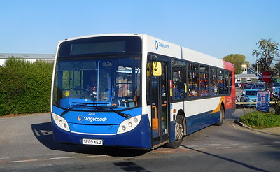 Stagecoach South 22855 - SF09AED - Alton (railway station)