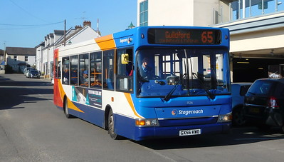 Stagecoach South 35216 - GX56KWO - Alton (railway station)
