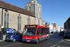 Wilts & Dorset 3682 - V682FEL - Lymington (St Thomas' Church) - 20.2.14
