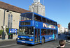 Wilts & Dorset (BlueStar) 1663 - W163RFX - Lymington (St Thomas' Church) - 20.2.14