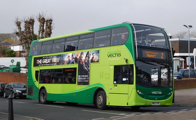 Southern Vectis 1580 - HW63FHB - Shanklin (Collingwood Road)