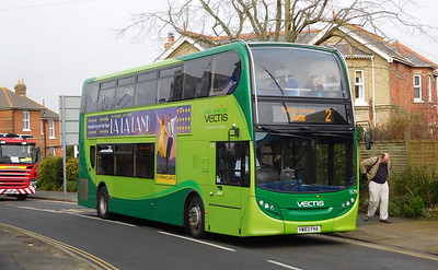 Southern Vectis 1579 - HW63FHA - Shanklin (Victoria Ave)