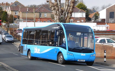 Southern Vectis 3805 - HW62CGY - Shanklin (Collingwood Road)