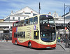 Brighton & Hove 405 - BJ11XHE - Brighton (railway station) - 10.4.12