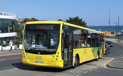 RATP Yellow Buses 801 - DX57JXS - Bournemouth (seafront)