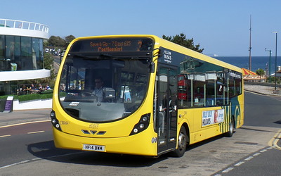 RATP Yellow Buses 859 - HF14BWM - Bournemouth (seafront)