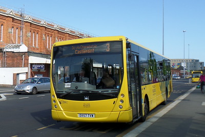 RATP Yellow Buses 803 - DX57TVW - Bournemouth (railway station)