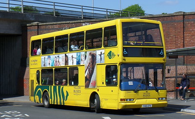 RATP Yellow Buses 415 - Y415CFX - Bournemouth (railway station)
