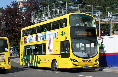 RATP Yellow Buses 196 - BF15KFG - Bournemouth (Gervis Place)