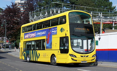RATP Yellow Buses 198 - BF15KFK - Bournemouth (Gervis Place)