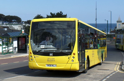RATP Yellow Buses 806 - YN08NLJ - Bournemouth (seafront)