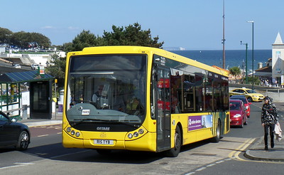 RATP Yellow Buses 15 - R15TYB - Bournemouth (seafront)