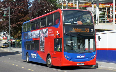 Wilts & Dorset 1541 - HJ63JKE - Bournemouth (Gervis Place)